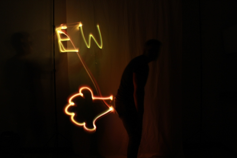 Saul Gonzalez Light Painting 3